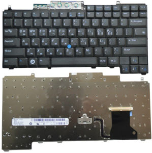 Wired Keyboard/PC Keyboard for DELL D620 D630 D631 D820 D830 PP18L Us Version pictures & photos