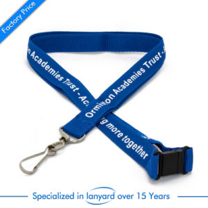 Flat Polyester Printed Lanyard for Publicity pictures & photos