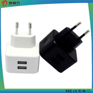 2016 2.1A Universal Travel USB Wall Charger for Cell Phone pictures & photos