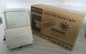 MPPT Control with Microwave Sensor 30W LED Solar Floodlight pictures & photos