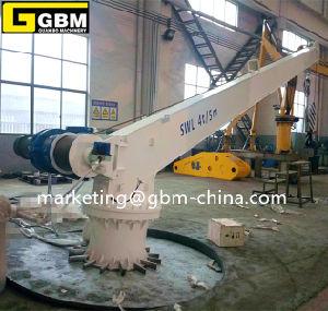 4t5m Suez Deck Crane Used in Vessel pictures & photos