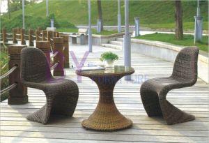 Creative Modern Outdoor Coffee Bar PE Rattan Furniture pictures & photos