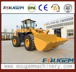 Front Loader Type Industrial Wheel Loader with Rock Bucket (GEM660 6ton) pictures & photos