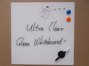 Portable Ultra White Magnetic Glass Writing Message Whiteboard