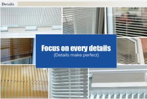 Neat and Practical Magnetic Control Venetian Blinds pictures & photos