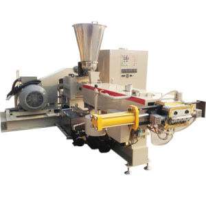 Plastic Pellet Polymer Compounding Parallel Co-Rotating Twin Screw Extruder Price pictures & photos