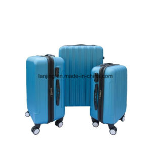 3 Piece Luggage Travel Bag Set ABS Suitcase with Lock pictures & photos