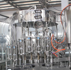 Glass Bottle Carbonated Alcohol Drink Filling Machine pictures & photos