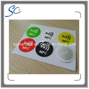 Cheaper 25mm Round NFC Ntag213 Sticker pictures & photos