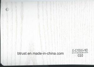 Wood Grain PVC Deco Foil for Furniture/Cabinet/Door Hot Laminate/Vacuum Membrane Press Bgl025-030 pictures & photos