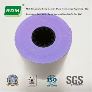 3 Ply Carbonless Paper Roll for DOT Matrix Electronic Cash Register pictures & photos