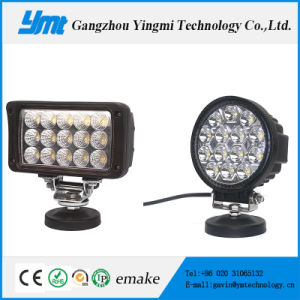 Round/Square Spot Flood 45W LED Work Light pictures & photos