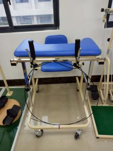 Medical Walking Frame with Seat and Castors pictures & photos