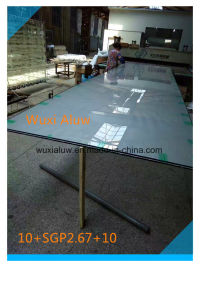 Large Size Laminated Glass for Building (imported film SGP) pictures & photos