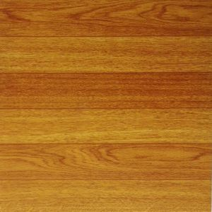 PVC Wood Pattern Vinly Floor Tiles pictures & photos
