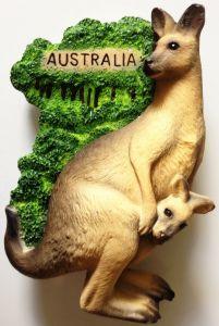 3D Australian Animal Kangaroo Shape Kitchen Decoration Bottle Opener pictures & photos
