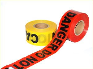 High Quality PE Red Warning Tape for Crime Scene pictures & photos