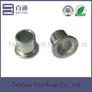 12X12mm White Zinc Plated Flat Head Full Tubular Steel Rivet pictures & photos