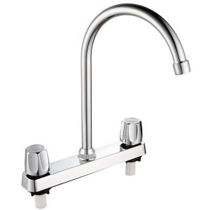 ABS Basin Mixer with Chrome Finished (JY-1029) pictures & photos