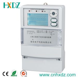 AC Watt-Hour Three Phase Multi-Rate Energy Meter pictures & photos