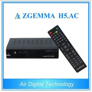 North America Cable&Terrestrial TV Box ATSC with DVB S2 Support IPTV Zgemma H5. AC pictures & photos