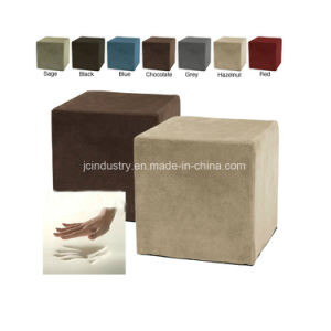 Logo Printing Foam Ottoman Pouf pictures & photos