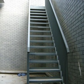 Hot Dipped Galvanized Steel Structure Ladder/ Steel Stair (SSWS-003) pictures & photos