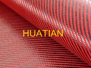Red Carbon Fiber Cloth, Kevlar Fiber