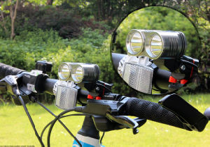 Super Bright 2, 000 Lumens Xm-U2 LED Bike Lamp Focusing Bike Light pictures & photos
