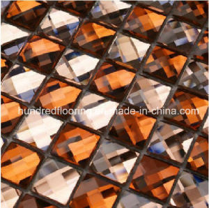 Diamond Glass Mirror Mosaic Tile (HD040) pictures & photos