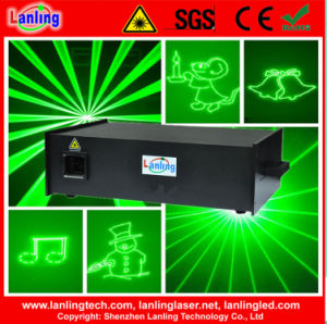 (CNI) 3W 35k Green Stage Laser Text Projector pictures & photos