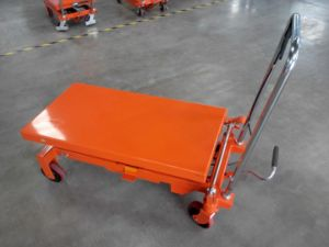 New Model Scissor Lift Platform pictures & photos