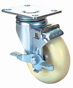 Nylon Industrial Caster Wheel (White) pictures & photos