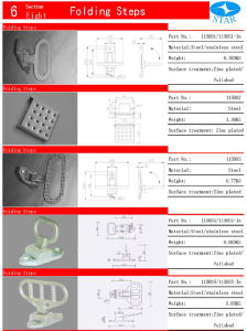 Truck and Trailer Folding Foot (115003)