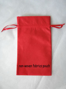 Non-Woven Fabric Pouch 1-3 pictures & photos