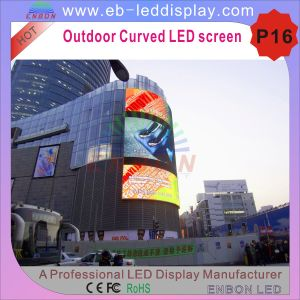 LED Display Screen-P16 Outdoor Curve LED Wall pictures & photos