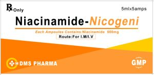 Vitamin Medicine for Human Niacinamide for Injection 500mg/5ml pictures & photos