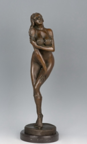 Bronze Sculpture Figure Statue (HYF-1073)