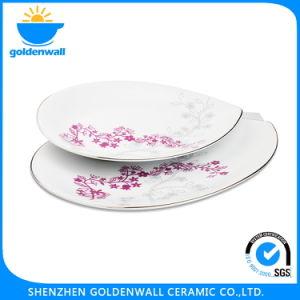 Ceramic Printing Desert Plates Dishes pictures & photos