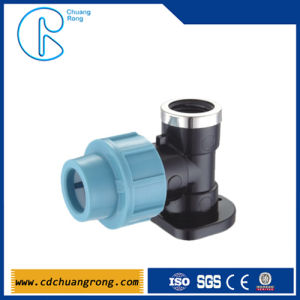 Plastic Water Pipe PP Compression Fitting pictures & photos