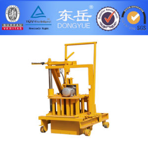 Small Moving Concrete Hollow Block Making Machine (QT40-3C) pictures & photos