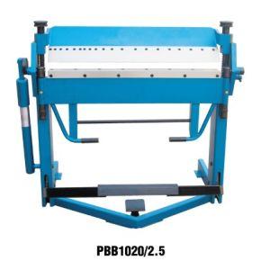 Manual Sheet Metal Bending Machine (Manual Folding Machine PBB1020/2.5) pictures & photos