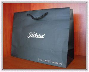 Matt Black Paper Gift Bags (JCBB-1079)
