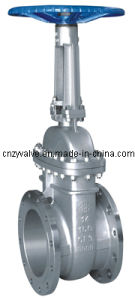 API Flanged Gate Valve with SUS304 Class 150-2500 pictures & photos