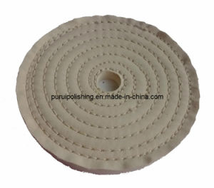 White Cotton Buffing Polishing Wheel for Metal pictures & photos