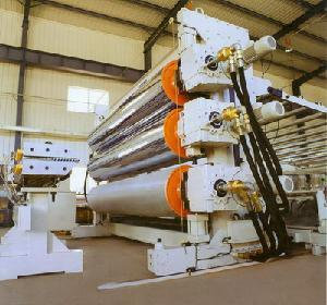Plastic Wide Sheet (Geomembrane) Extrusion Machine pictures & photos
