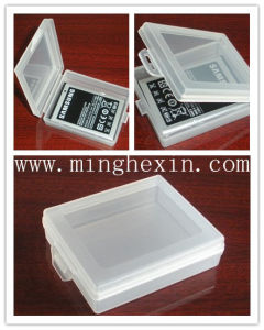 Transparent Plastic Battery Box with ISO SGS