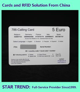 Scratch Card Made Plastic with Magnetic Stripe pictures & photos