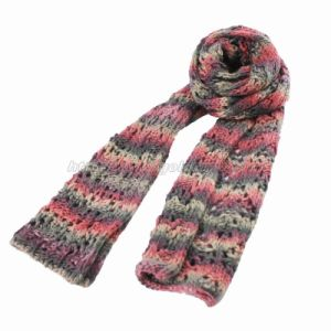Fashion Crochet Handed Knitted Scarf (GMK20-14) pictures & photos
