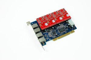 Asterisk PCI Cards--4 Ports Analog PCI Cards